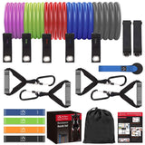 22PCS Resistance Bands Set with Handles