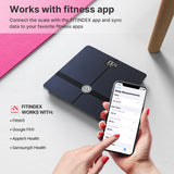 FITINDEX New Flagship! WiFi Bluetooth Body Fat Scale, ITO Large Platform Accurate Metrics