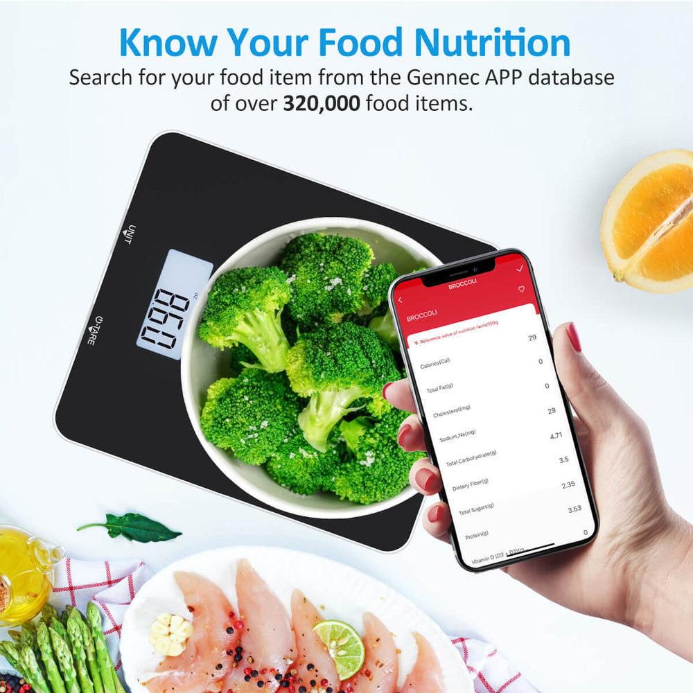 FITINDEX FT-SNG01 Smart Food Nutrition Scale