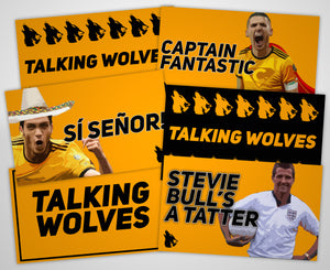 Talking Wolves Sticker Pack