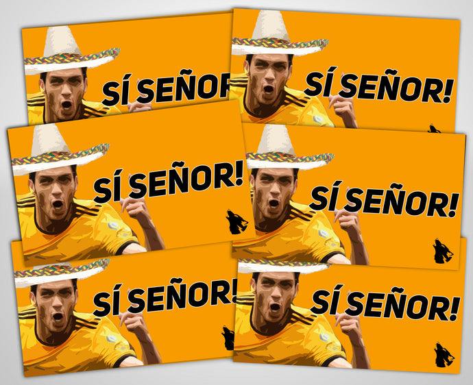 Si Seńor stickers