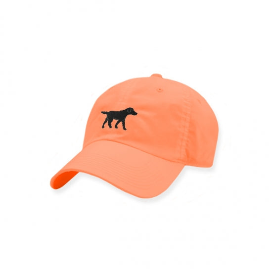 Smathers & Branson Black Lab Performance Hat (Coral)