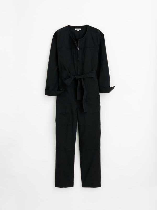 Alex Mill Jak Jumpsuit in Cotton Twill - Black