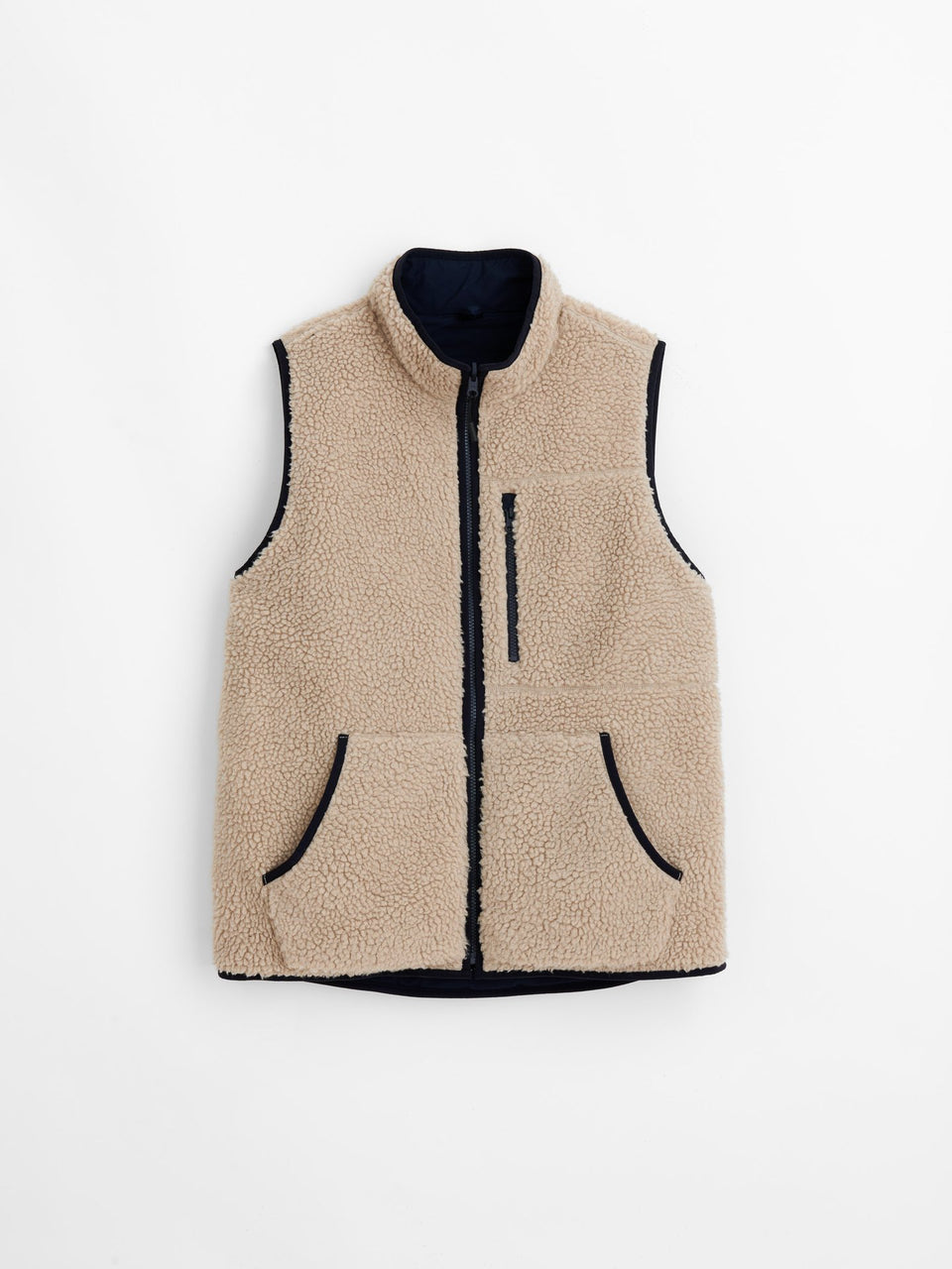 Alex Mill Reversible Sherpa Utility Vest