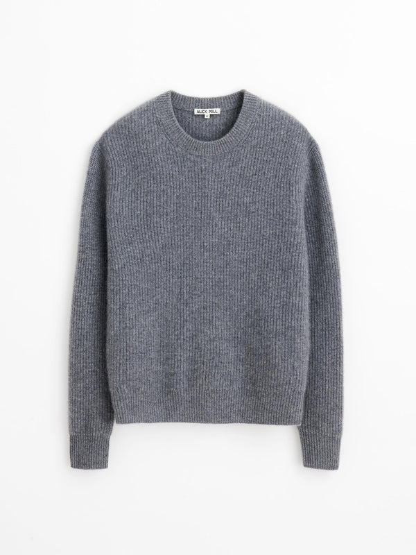 Alex Mill Jordan Sweater in Washed Cashmere