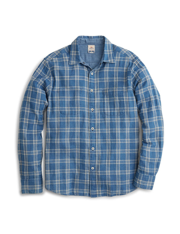 Faherty Reversible Shirt - Trestles Check