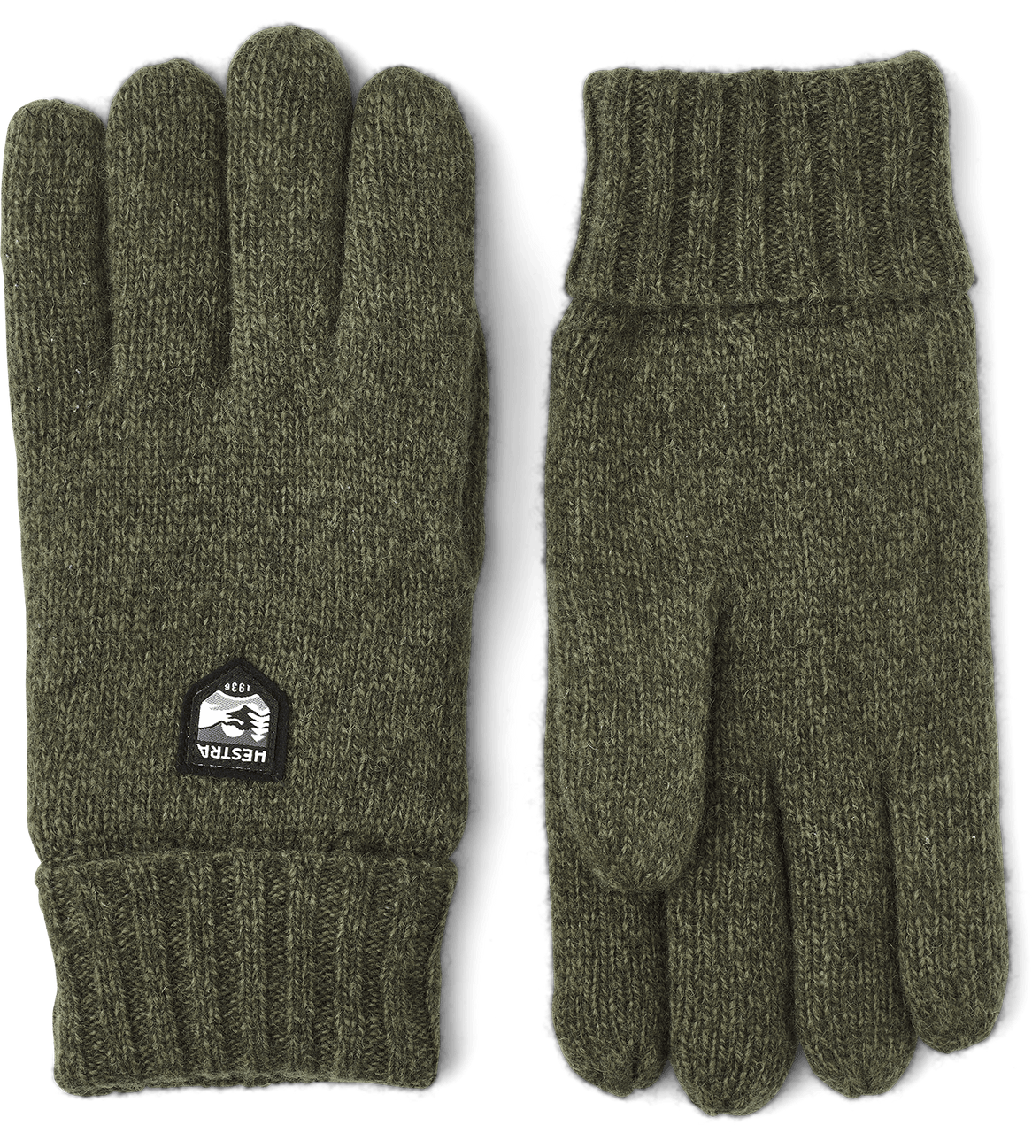 Hestra Basic Wool Glove - Olive
