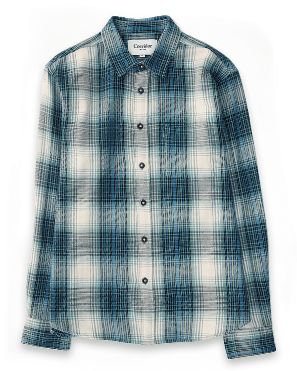 Corridor Big Energy Indigo Plaid -