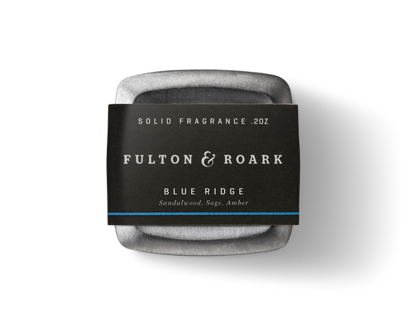 Fulton & Roark Solid Cologne - LTD Blue Ridge