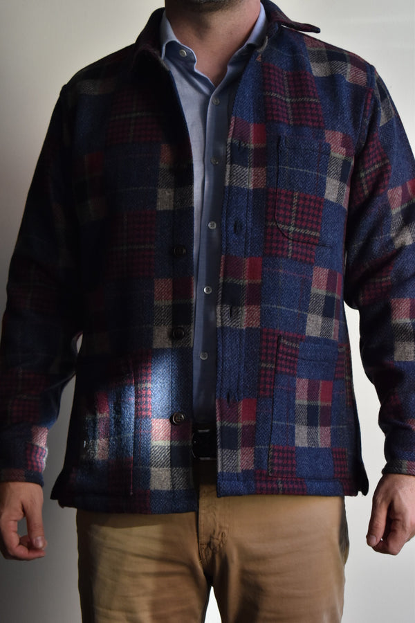 Corridor Patchwork Wool Jacket