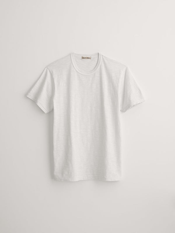 Alex Mill Standard T-Shirt in Slub Cotton - White