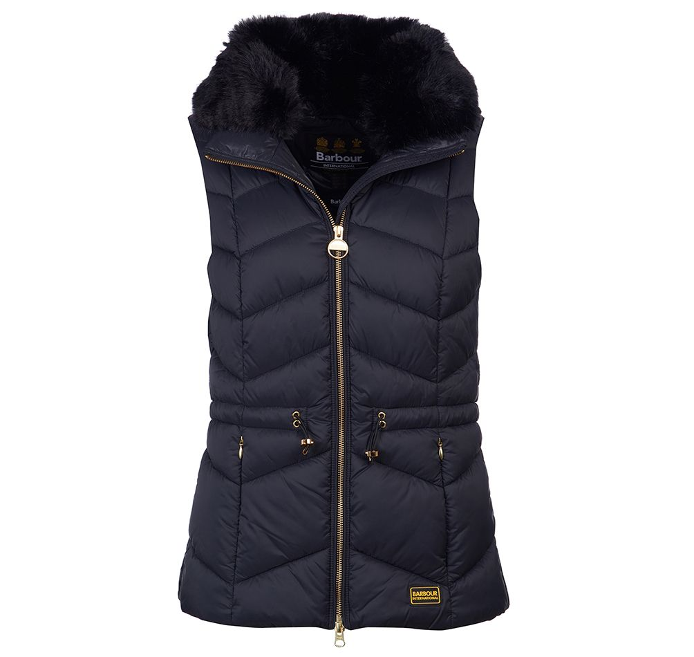Barbour International Halfback Gilet - Black