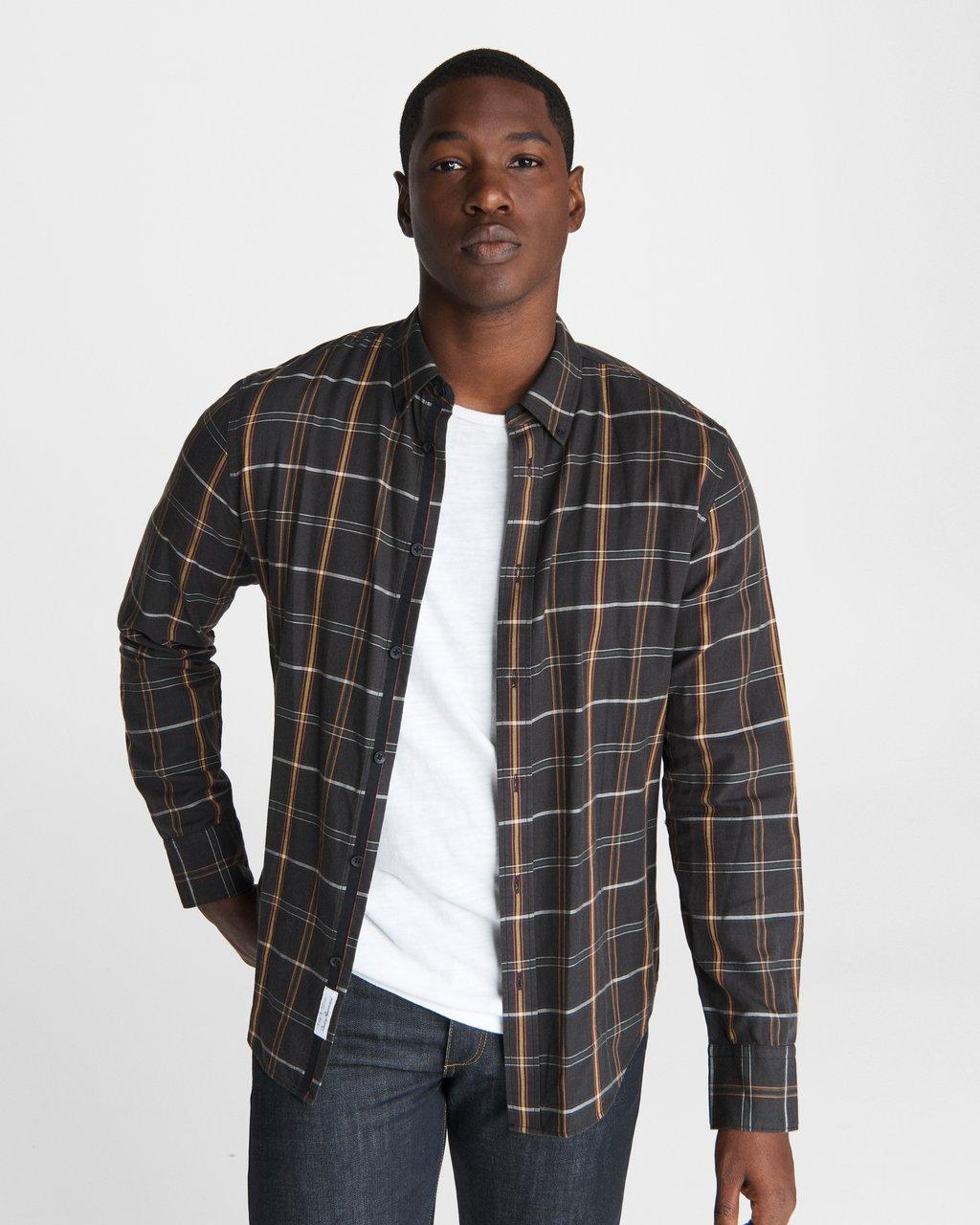 Rag & Bone Fit 2 Tomlin Shirt - Plaid Flannel