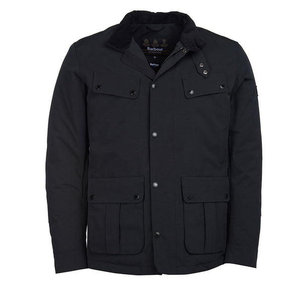 Barbour International Waterproof Duke Jacket  - Black