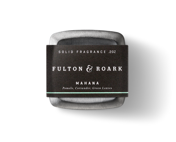 Fulton & Roark Mahana Solid Cologne- NEW