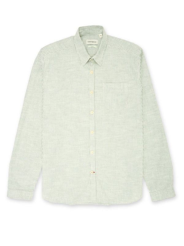 Oliver Spencer New York Special Shirt Alford Green