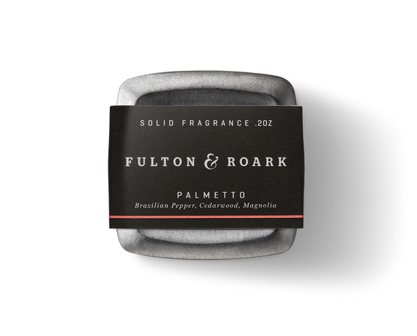 Fulton & Roark Solid Cologne - Palmetto - .2oz