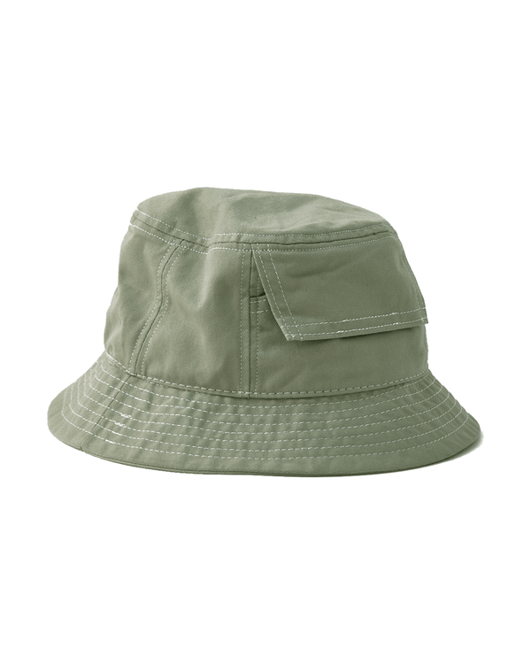 Corridor Sage Canvas Pocket Bucket