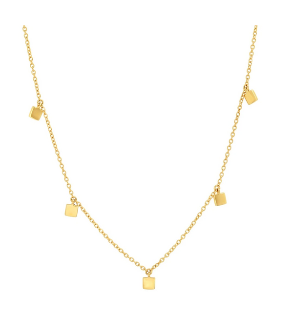 Eriness Mini Square Necklace