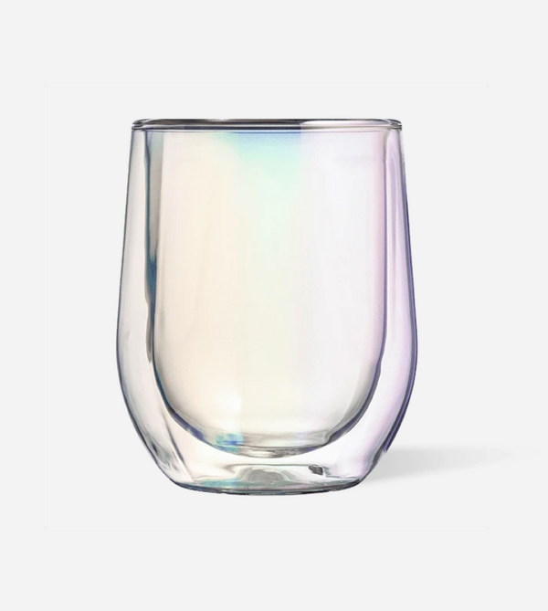 Corkcicle Glass Stemless - Double Pack - Prism