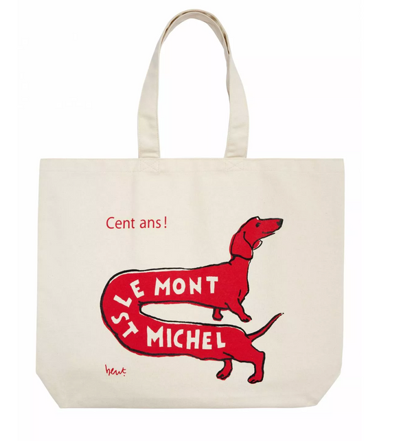 Le Mont St Michel Tote Bag
