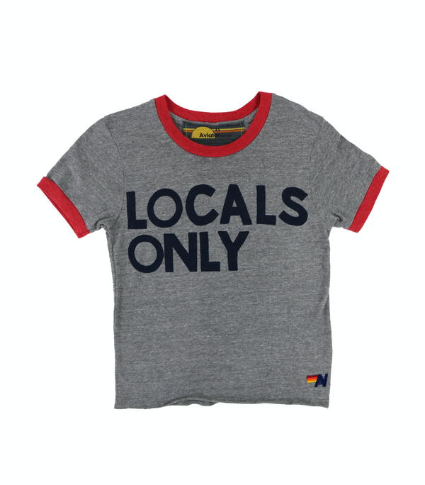 Aviator Nation Ringer Tee Locals Only