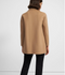 Theory Clairene Shawl Jacket In Double-Face Wool-Cashmere - Palomino