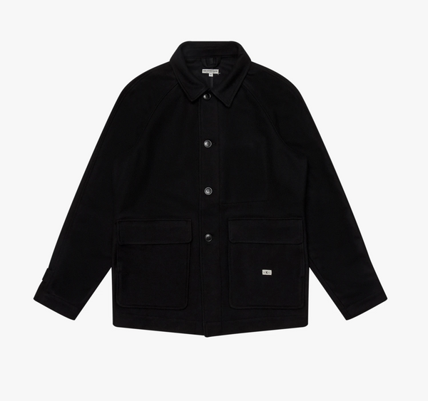 Knickerbocker Raglan Country Coat  - Black