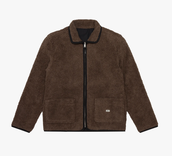 Knickerbocker Reverse Zip Pile Jacket