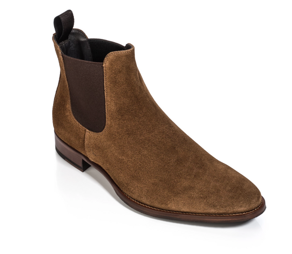 To Boot Shelby Boot Mid-Brown Suede