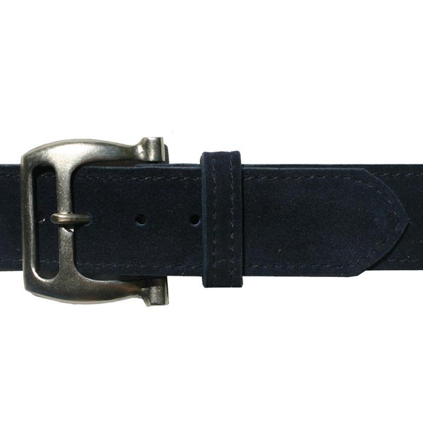 Kim White Slotted Buckle Belt