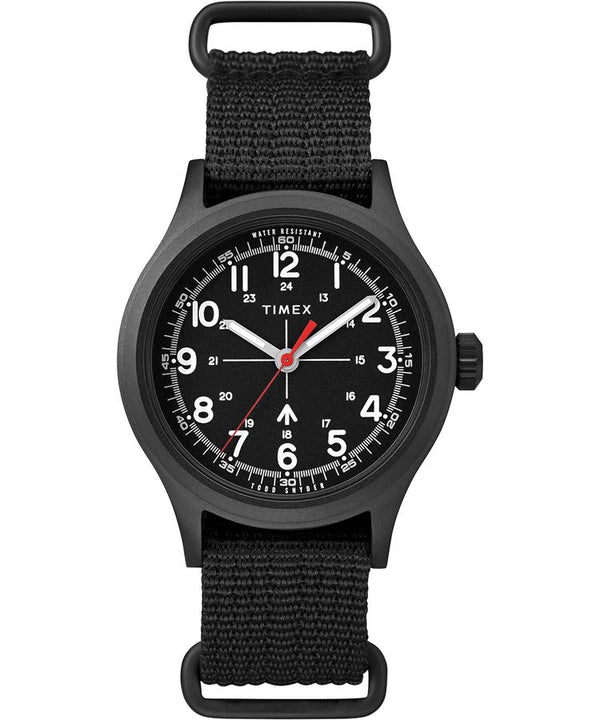 Timex Todd Snyder Military Watch Black Olive