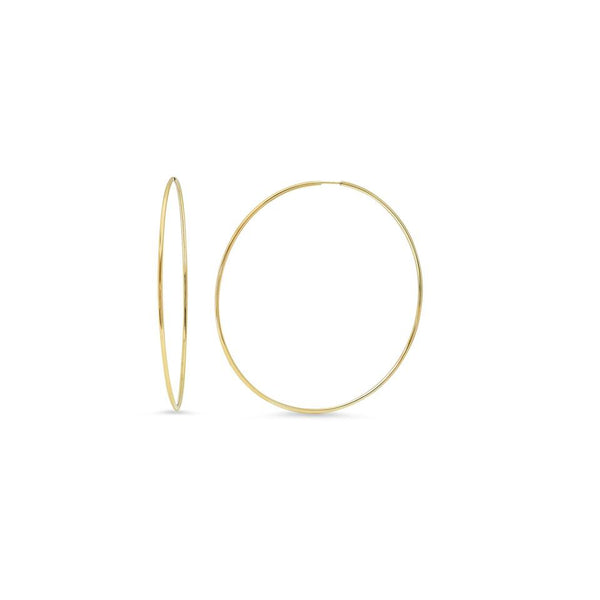 Eriness 14K Yellow Gold 1 inch Hoop