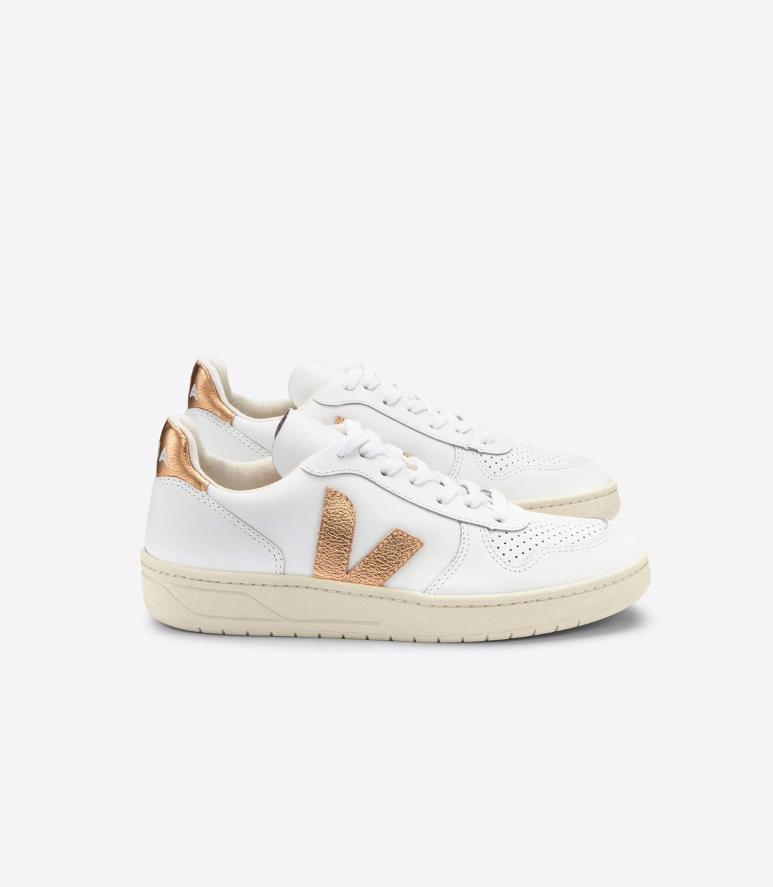 Veja V-10 Leather White Venus