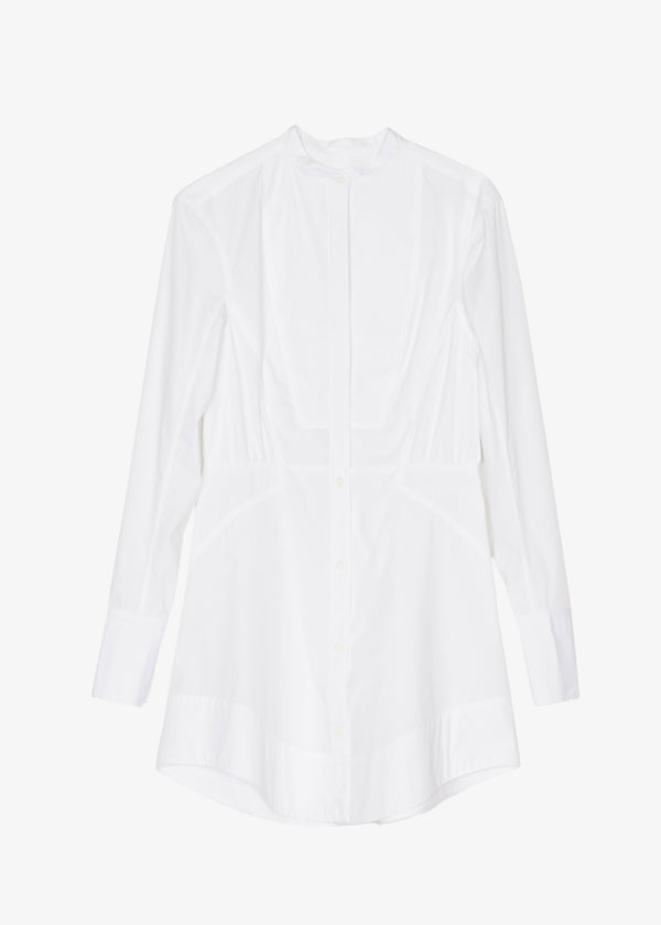 Rag & Bone Victorine Shirt Dress  - White