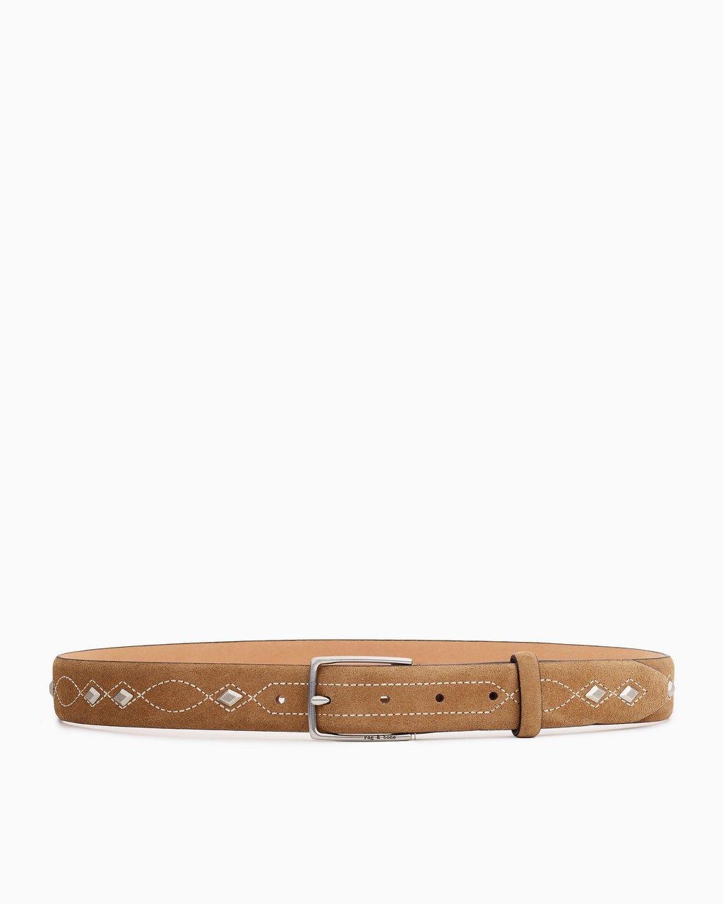 Rag & Bone South Dress Belt - Camel