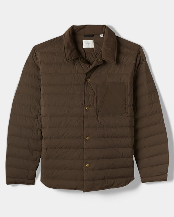 Billy Reid Baffle Shirt Jacket