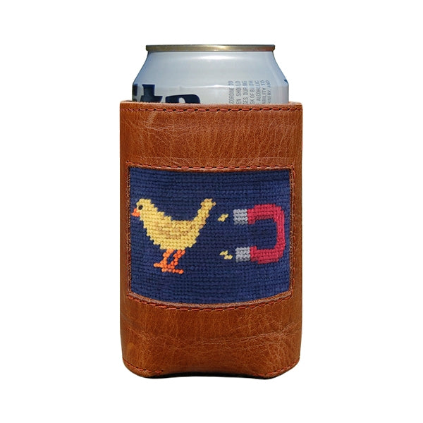 Smathers & Branson Chick Magnet Needlepoint Can Cooler