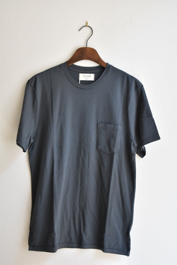 M.Singer Crew Neck TShirt Charcoal