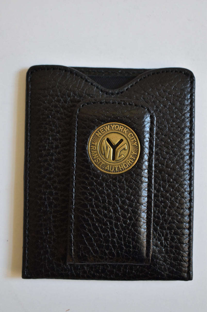 Tokens & Icons N.Y. Token Money Clip Wallet Black