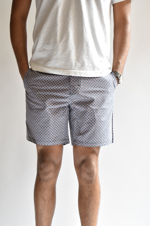 Faherty Classic Board Short Geo Pyramid