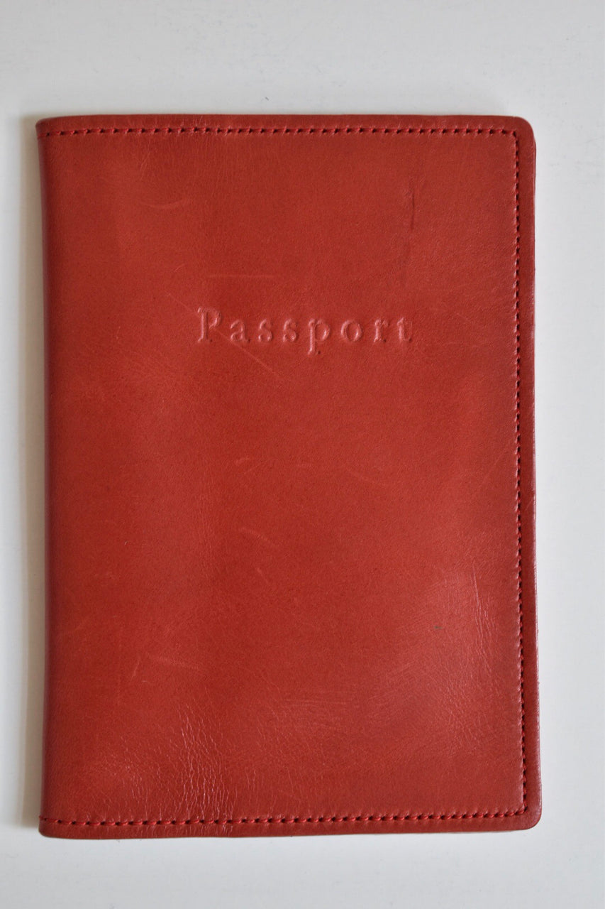 Moore & Giles Passport Cover