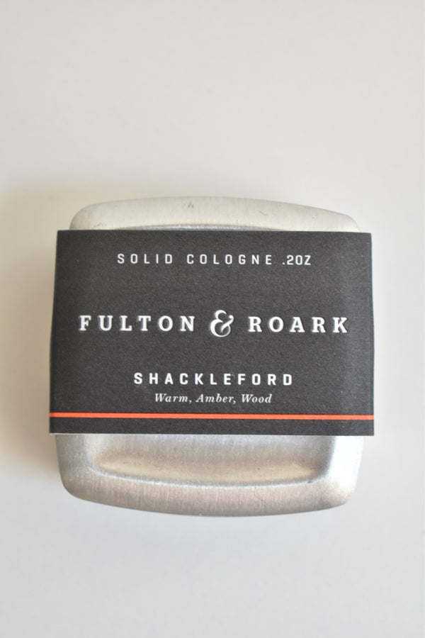 Fulton & Roark Solid Cologne - Shackleford - .2oz