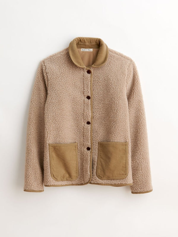 Alex Mill Sherpa Fleece Jacket