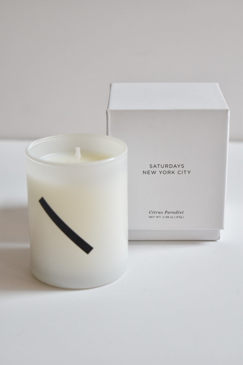 Saturdays Candle Grapefruit & Ginger Small