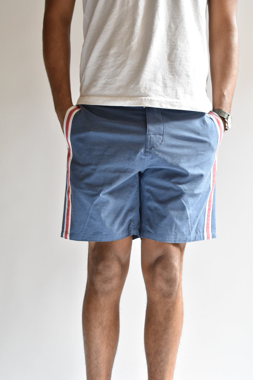 Faherty Retro Surf Stripe Boardshorts