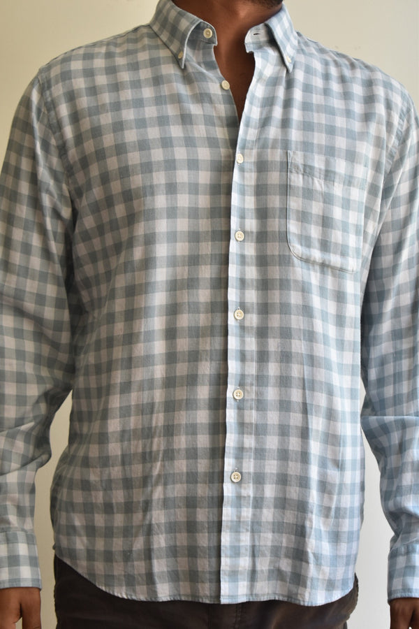 Faherty BD Everyday Shirt Ojai Sea Check