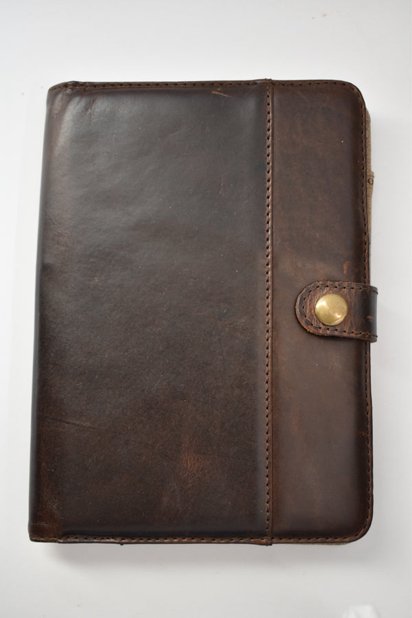 Moore & Giles Small Writing Pad Brampton Brown