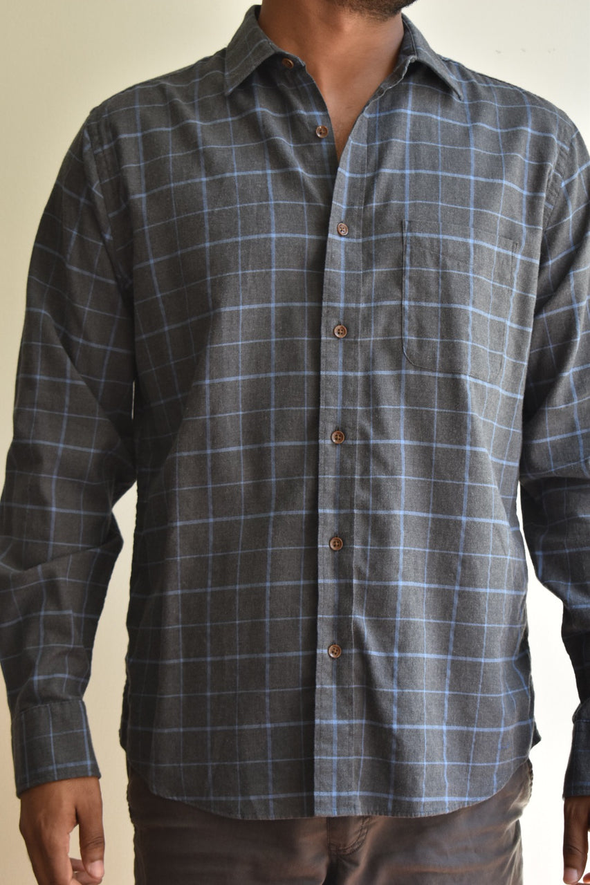 Faherty Everyday Shirt Hudson Windowpane