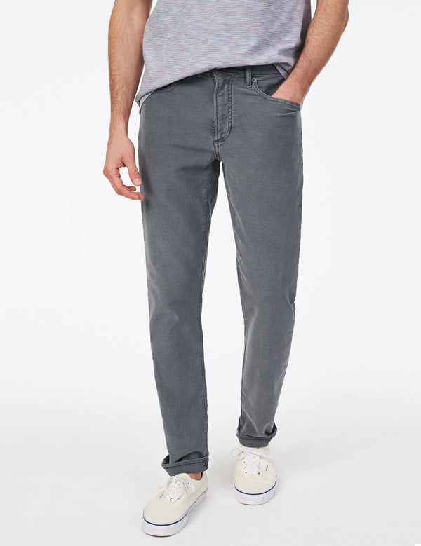 Faherty Stretch Terry 5 Pocket Pants Slate